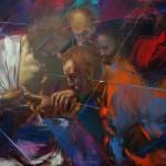 Thomas Caravaggio the Saint of incredulity